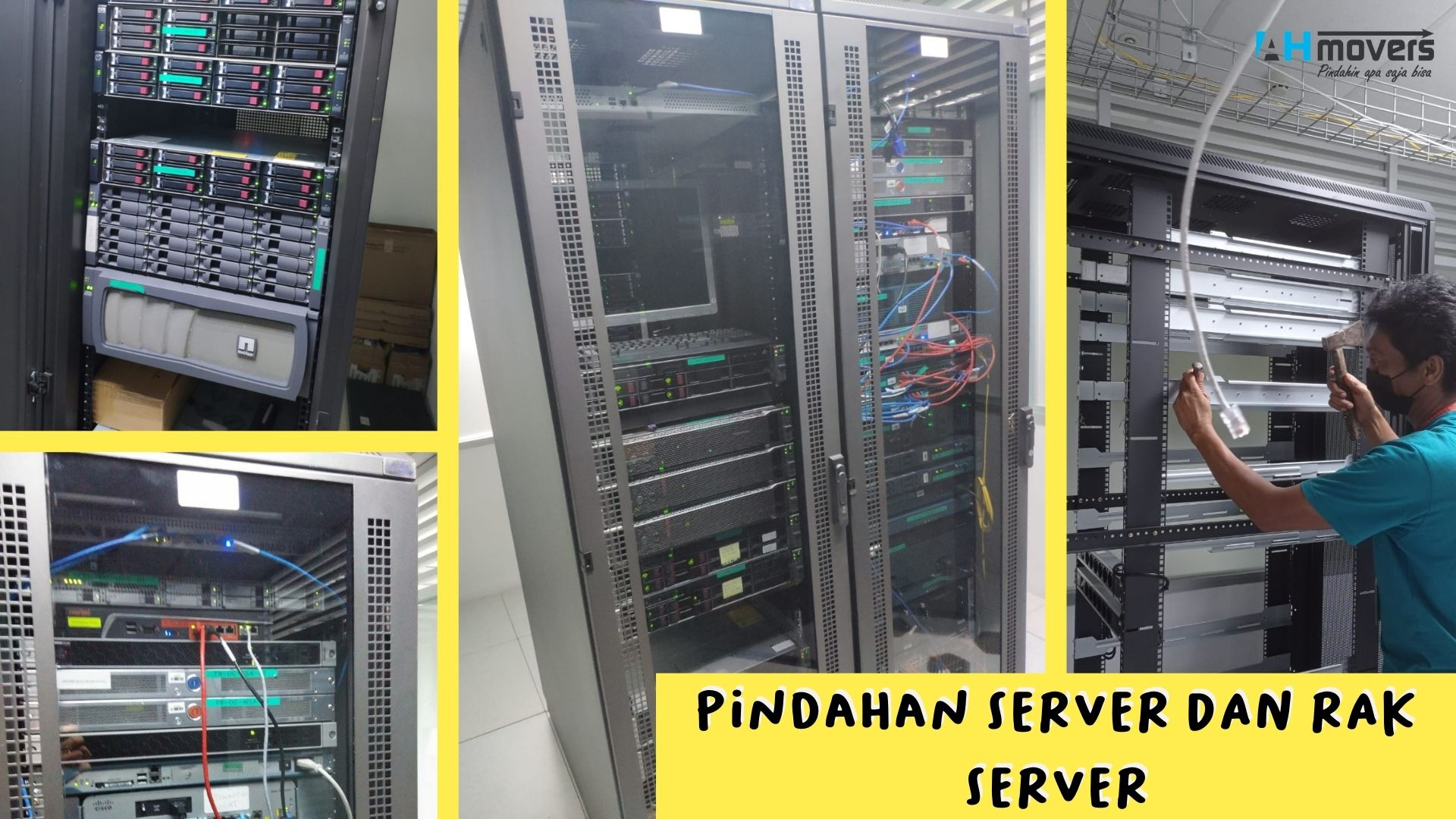 Pindah Rak Server